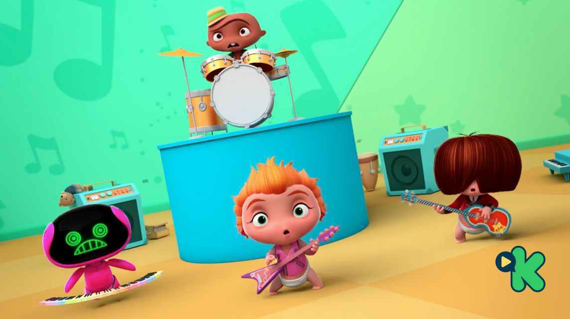 Mini Beat Power Rockers: ¡A rockear!