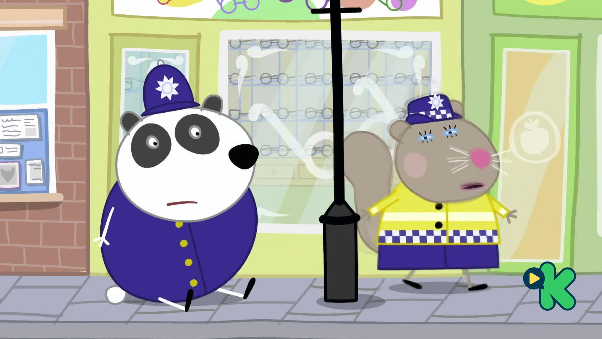 Peppa: La estación de policías