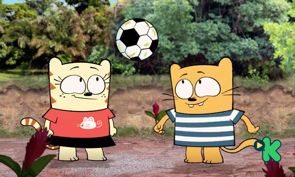 Ollie y Moon: La escuela de fútbol