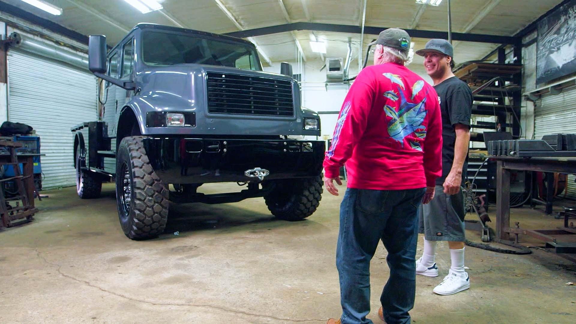 Texas Metal: 3, Episode 8 - Dump Truck to Show Truck | MotorTrend