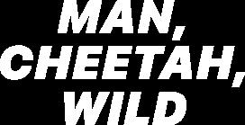 Man, Cheetah, Wild